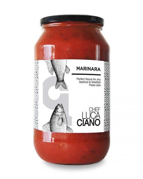 Chef Luca Ciano Marinara Pasta Sauce Jar